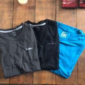 Nike & adidas Work out shirts M